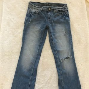 Aeropostale Distressed Boot Cut Jeans! Size 4S!